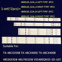 Barre de rétro-éclairage 480D _ SLIM, 48 s3653 db
