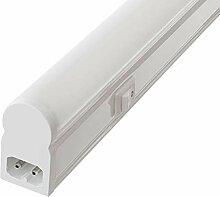 Barre lumineuse LED T5, blanc neutre mat, avec