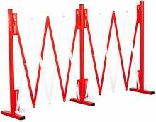 Barrière de sécurité extensible barricade -