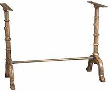 Base de table en fonte avec finition antique
