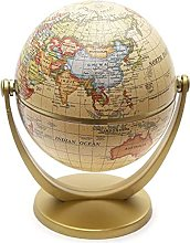 BASOYO World Globe Mini Antique Globe -