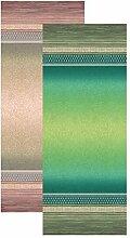 Bassetti Chemin de Table, Coton, Beige, 50x150