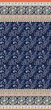 Bassetti Couvre-lit en Coton Bleu 240 x 255 cm
