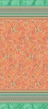 Bassetti Couvre-lit en Coton Orange 265 x 255 cm