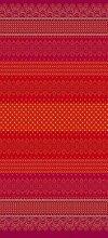 Bassetti Couvre-lit en Coton Rouge 265 x 255 cm