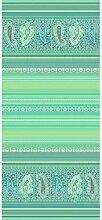 Bassetti Couvre-lit en Coton Vert 265 x 255 cm