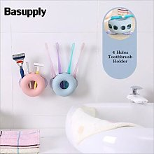 Basupply – support mural pour rasoir, ventouse,
