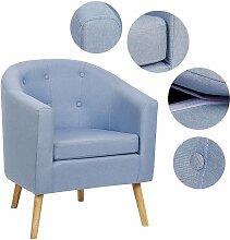 BATHRINS®Fauteuil scandinave \Chaise de canapé