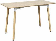BATHRINS®Table à manger scandinave, table de
