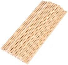 Bâtonnets en bois naturel pour crème glacée,