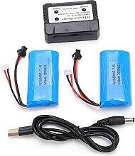 Batterie au lithium, batterie au lithium 7.4V