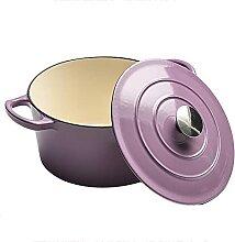 Batterie Cuisine En émail Pot Soupe En Fonte