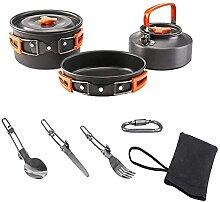 Batterie de cuisine de camping Ensemble de cuisine
