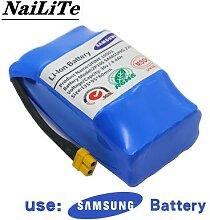 Batterie li-ion rechargeable 36v, 4400mah, cellule