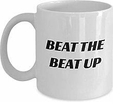 Battre la Tasse de Beat Up Support de café en