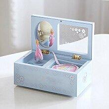 BAWAQAF Boîte à musique en plastique, ballerine,