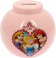 BB Tirelire Princesse Disney Cœur Rouge