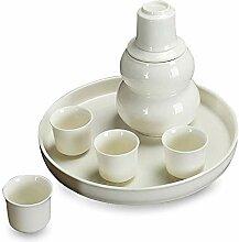BBGSFDC Service à saké japonais 8 pièces -