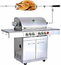 BBQ Grill Barbecue À Gaz INOX DÖNER- 4