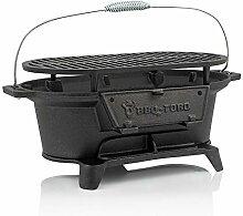 BBQ-Toro Barbecue en fonte avec grille de cuisson