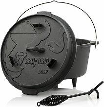 BBQ-Toro Dutch Oven DO9P | 9,0 litres | Premium