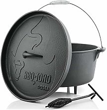 BBQ-Toro Dutch Oven Série Alpha | déjà brûlé