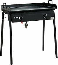 BBQ-Toro Table de barbecue à gaz et plaque de