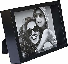 BD ART 10 x 15 cm Box Cadre Photo, Noir
