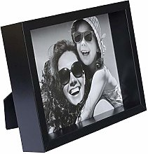 BD ART 20 x 25 cm Box Cadre Photo, Noir