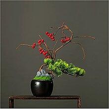 Bdesign Plante Artificielle Arbre de bonsaï 36cm