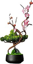Bdesign Plante Artificielle bonsaï Arbre 18cm en