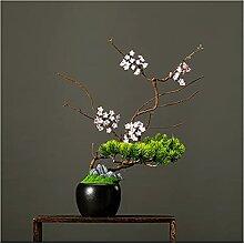 Bdesign Plante Artificielle Bonsaï Arbre 35cm