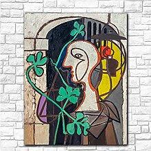 bdkym Célèbre Picasso La Lampe Impression sur