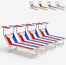 Beach And Garden Design - 4 transats de plage