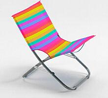 Beach And Garden Design - Chaise de plage pliante