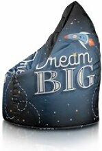 Beanbag / pouf hako - peluche - dream big