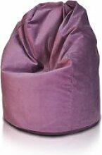 Beanbag / pouf hako - peluche - violet