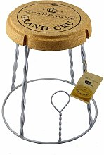 Beat Champagne-2 Cork Series: Tabouret- Table