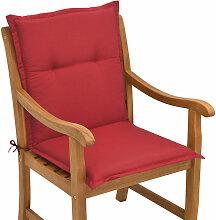 Beautissu Matelas Coussin pour chaise fauteuil de