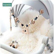 Bébé jouet en bois landau pince bébé Mobile
