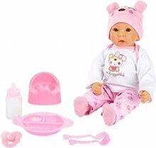Bébé poupée marie avec accessoires