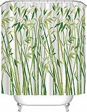 Beddingeer Rideau en bambou imprimé à l'eau