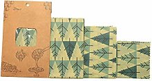 Beeswax Wrapping Paper,biodegradable Washable