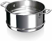 Bekaline 12060294 Chef Passoire Vapeur en acier