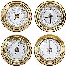 BEKwe Thermomètre Hygromètre Baromètre Montre