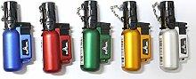 Belflam Lot De 5 Mini Chalumeau Gaz Rechargeable