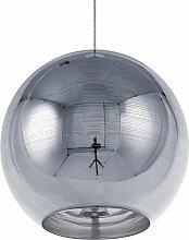 Beliani - Lampe suspension argenté ASARO