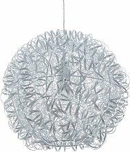 Beliani - Lampe suspension argenté MALAS