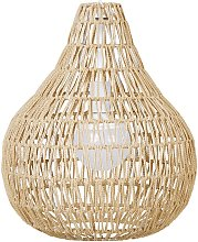Beliani - Lampe suspension beige MOLOPO