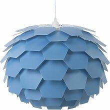 Beliani - Lampe suspension bleu gros abat-jour